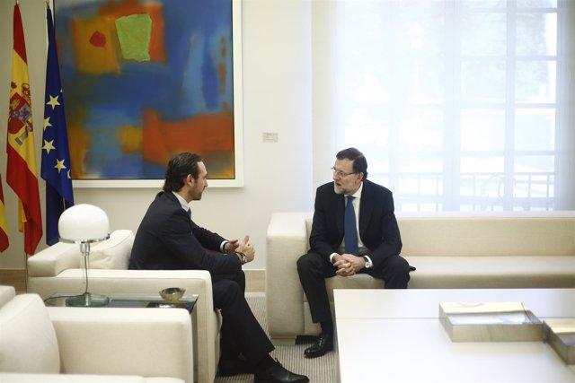 Mariano Rajoy y José Ramón Bauzá en Moncloa