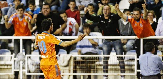 El Rayo deja al Valencia sin margen de error en su pelea por la 'Champions'