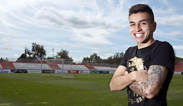 Ángel Correa, jugador del Atlético de Madrid