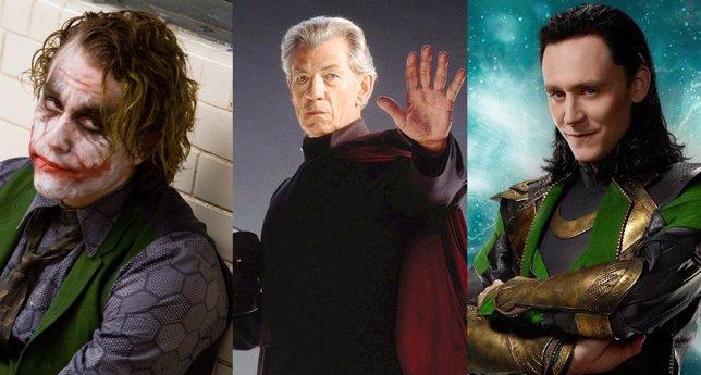 Villanos del cine de superhéroes