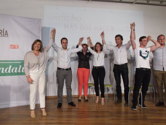Acto del PSOE en Grazalema (Cádiz)