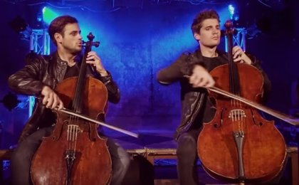 2Cellos versionan a Michael Jackson: They don't care about us