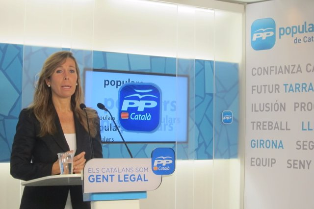Líder del PP catalán, Alícia Sánchez-Camacho