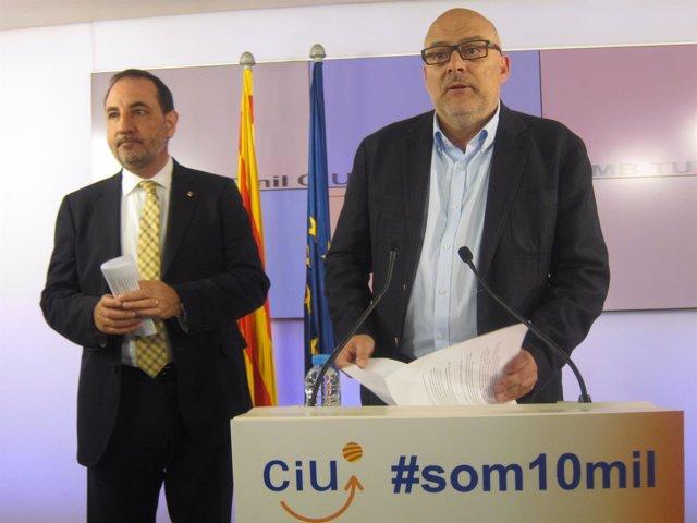 Ramon Espadaler y Lluís Coromines
