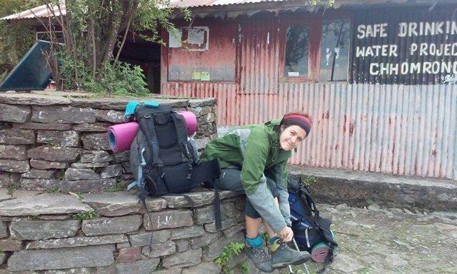Isabel Ortiz Sainz, la joven montañera cántabra desaparecida en Nepal