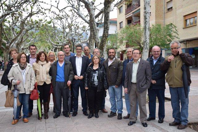 Visita Patxi López