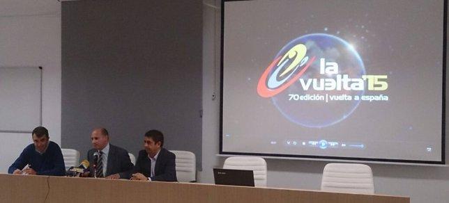 Presentación de la etapa de la Vuelta Ciclista a España que comienza en Jódar