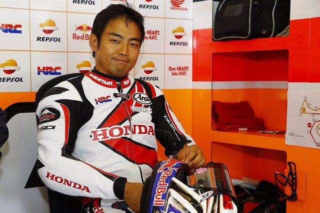 Hiroshi Aoyama Jerez test