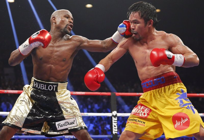 Mayweather concede revancha a Pacquiao