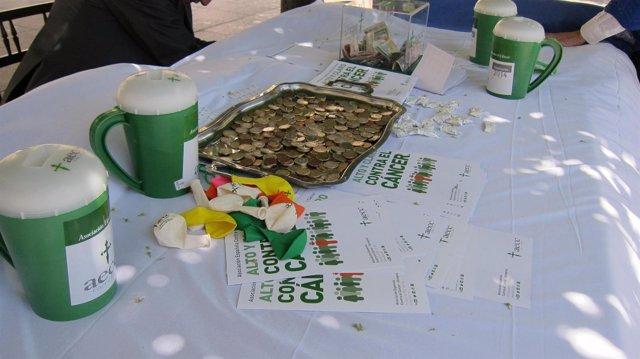 Cuestación de la Asociación Española Contra el Cáncer (AECC)