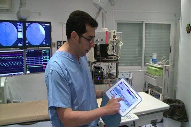 Aplicación cardiólogo