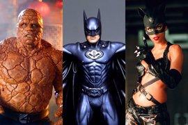 Los 10 trajes de superhéroes más ridículos de la historia del cine