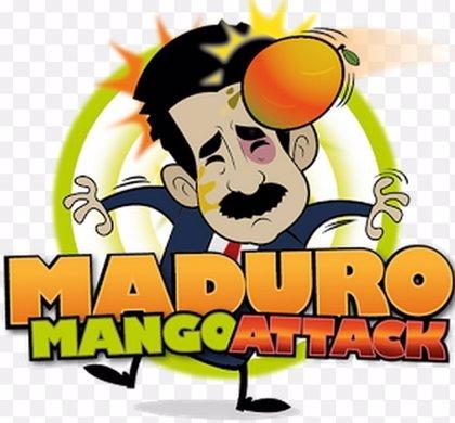 'Maduro Mango Attack', nueva APP que permite tirarle fruta al presidente