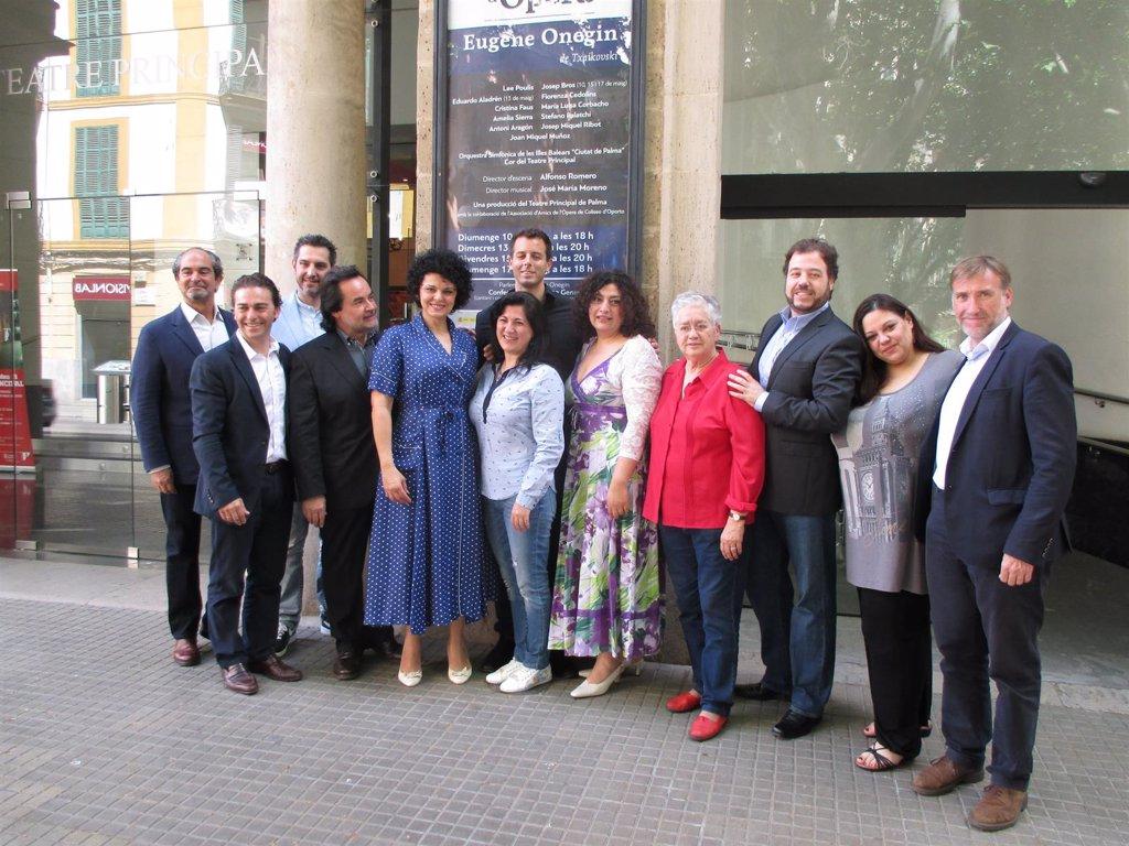 Antonio Mallorca Profesora De Ruso el teatre principal de palma estrena este domingo la ópera