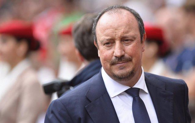 Rafa Benítez, entrenador del Nápoles