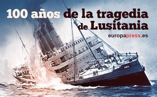 Portada Lusitania en su 100 aniversario