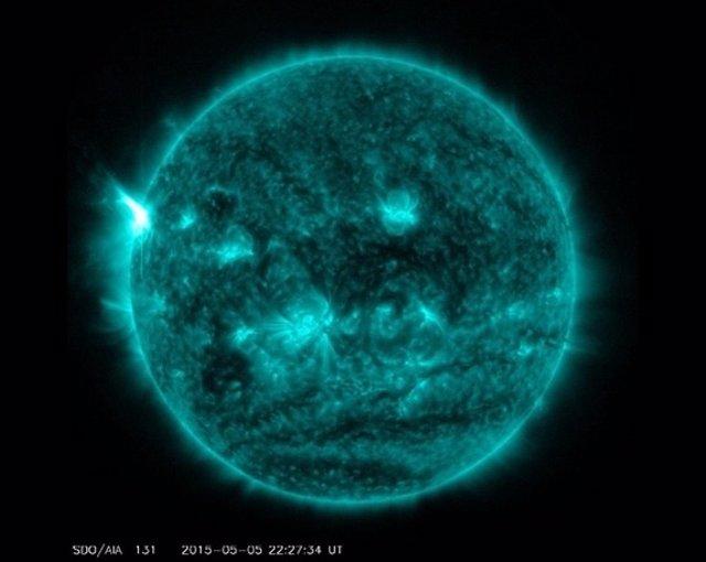 Llamarada solar X 2.7