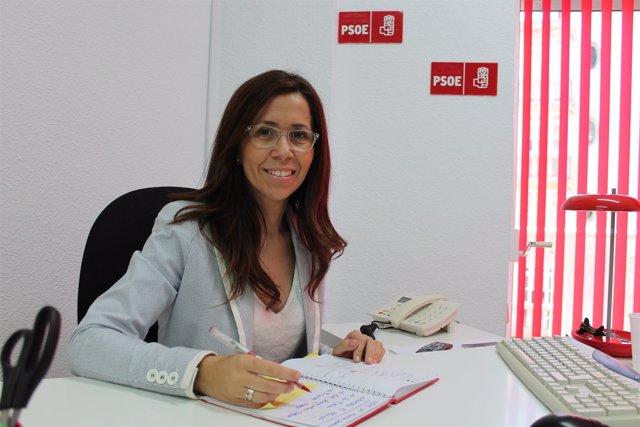 Ana Belén Castejón en su despacho