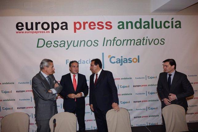 Bendodo, en los desayunos de Europa Press Andalucía