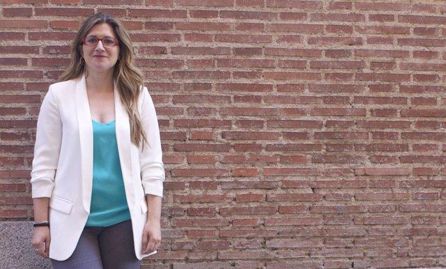 Raquel López, candidata de IU
