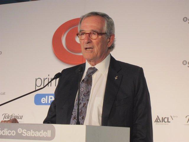 El alcalde de Barcelona, Xavier Trias