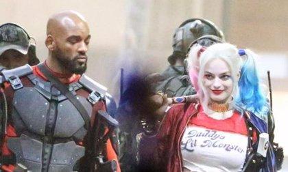 Suicide Squad: Vídeo con más imágenes de Harley Quinn y Deadshot en el set de rodaje