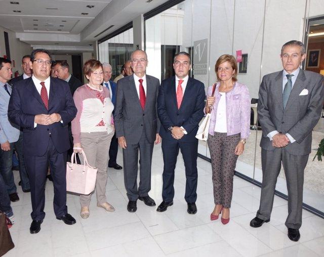 Elías Bendodo participa en los Desayunos de Europa Press Andalucía