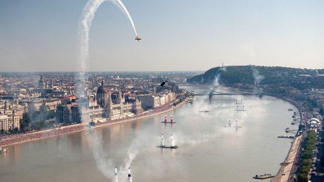 Carrera en Budapest del Red Bull Air Race World Championship