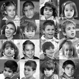 Niños con Síndrome Sanfilippo