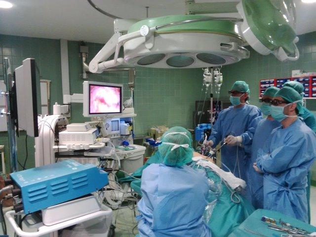 Intervención 3D en Urología
