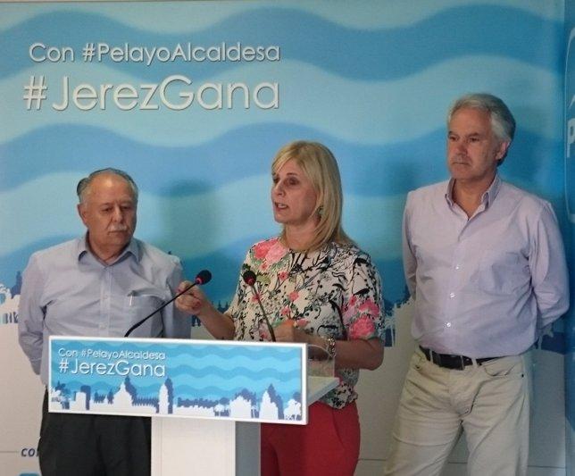 María José García-Pelayo (PP), alcaldesa de Jerez y candidata a la reelección