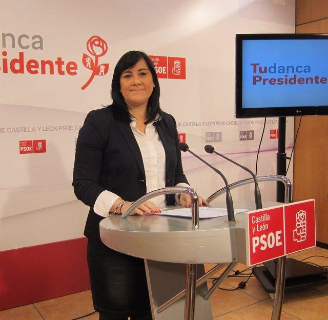 La secretaria de Organización del PSCL, Ana Sánchez