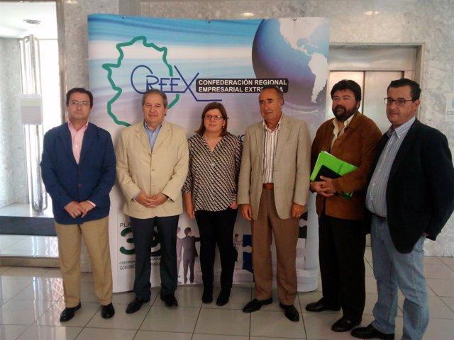 Reunión Creex y Ciudadanos