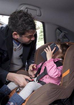 Sistema de retención infantil coches