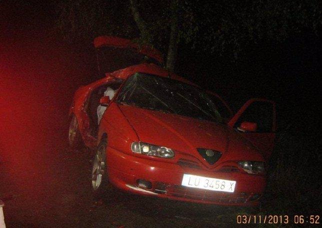 Accidente de tráfico en Ordes