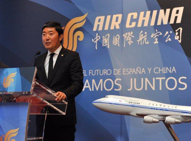 Peter Han, director general de Air China