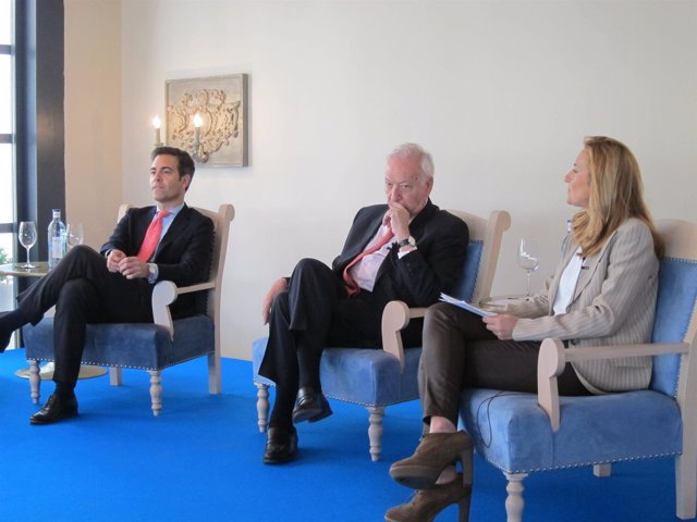 García-Margallo en Pamplona.