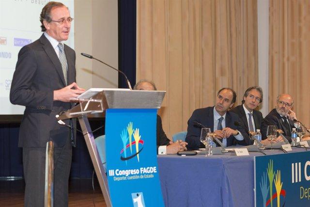 Intervención de Alfonso Alonso en la inauguración