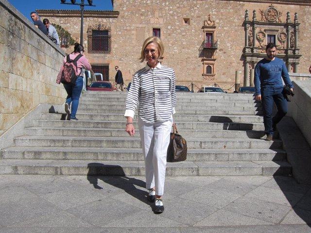Rosa Díez en Salamanca.