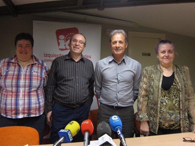 Candidatura de IU en Cáceres