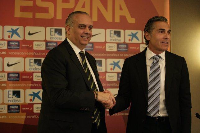 Sergio Scariolo, presentacion seleccionador Baloncesto