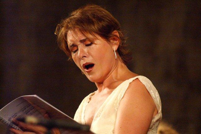 La soprano María Bayo
