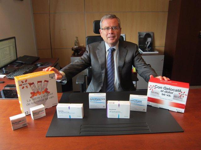 El consejero delegado de Grupo Ferrer, Jordi Ramentol