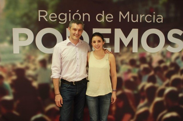 Urralburu y Montero en el acto