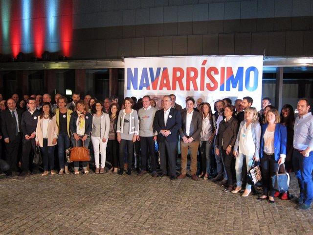 UPN abre la campaña de las elecciones forales del 24M.