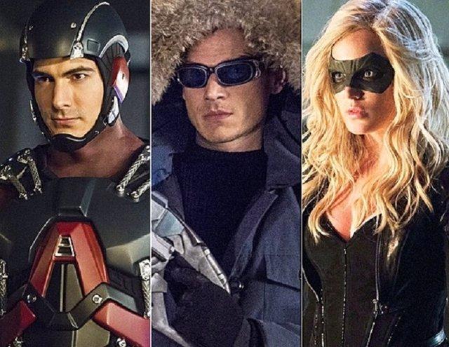 Nuevo spin-off de Arrow y The Flash con Firestorm, Canario Negro, Capitán Frío y