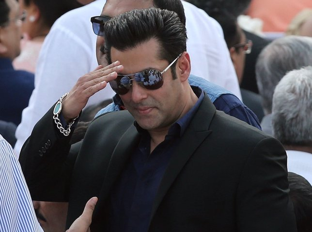 El actor indio Salman Khan en un evento