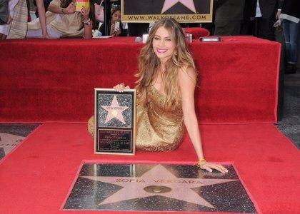 Sofía Vergara ya tiene estrella en el paseo de la fama de Hollywood