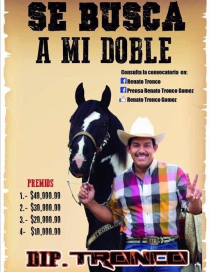 Diputado mexicano busca a su doble para que trabaje por él en actos oficiales