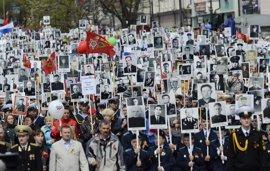 Desfile en Rusia de proporciones históricas con ausencias notorias